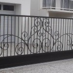 Custom Automatic Driveway Wrought Iron Gate