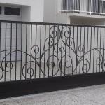 Custom Automatic Driveway Wrought Iron Gate