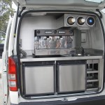 Custom Coffee Van Fitout