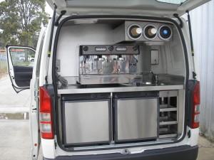 Custom Coffee Van Fitout