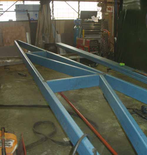 De-Watering Pump Boom Arm Fabrication
